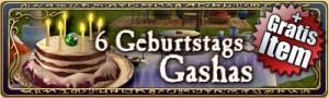 Geburtstag Gashas